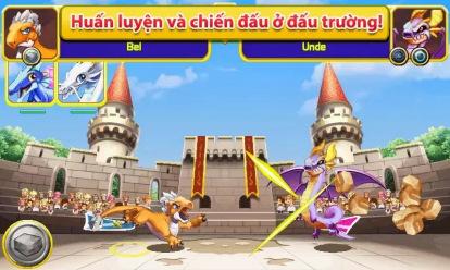 Game Dragon Mania GameLoft - Hack Mua Thêm Vàng Và Kim Cương Free