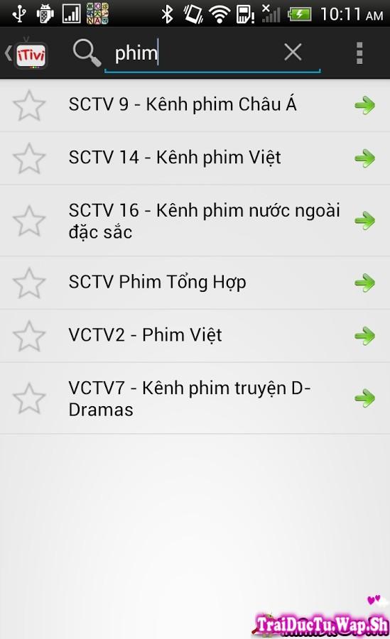iTivi – Ứng Dụng Xem Tivi Truyền Hình Cáp HD Độ Nét Cao