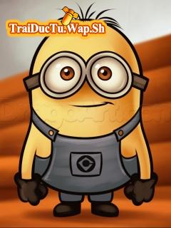 Theme nhân vật Minion Kute cho điện thoại